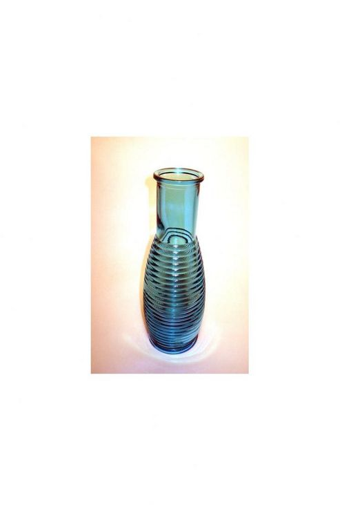 San Miguel Coloured Glass Carafe in Blue