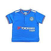 Chelsea Baby/Toddler Kit T-Shirt - 2015/16 Season - Blue