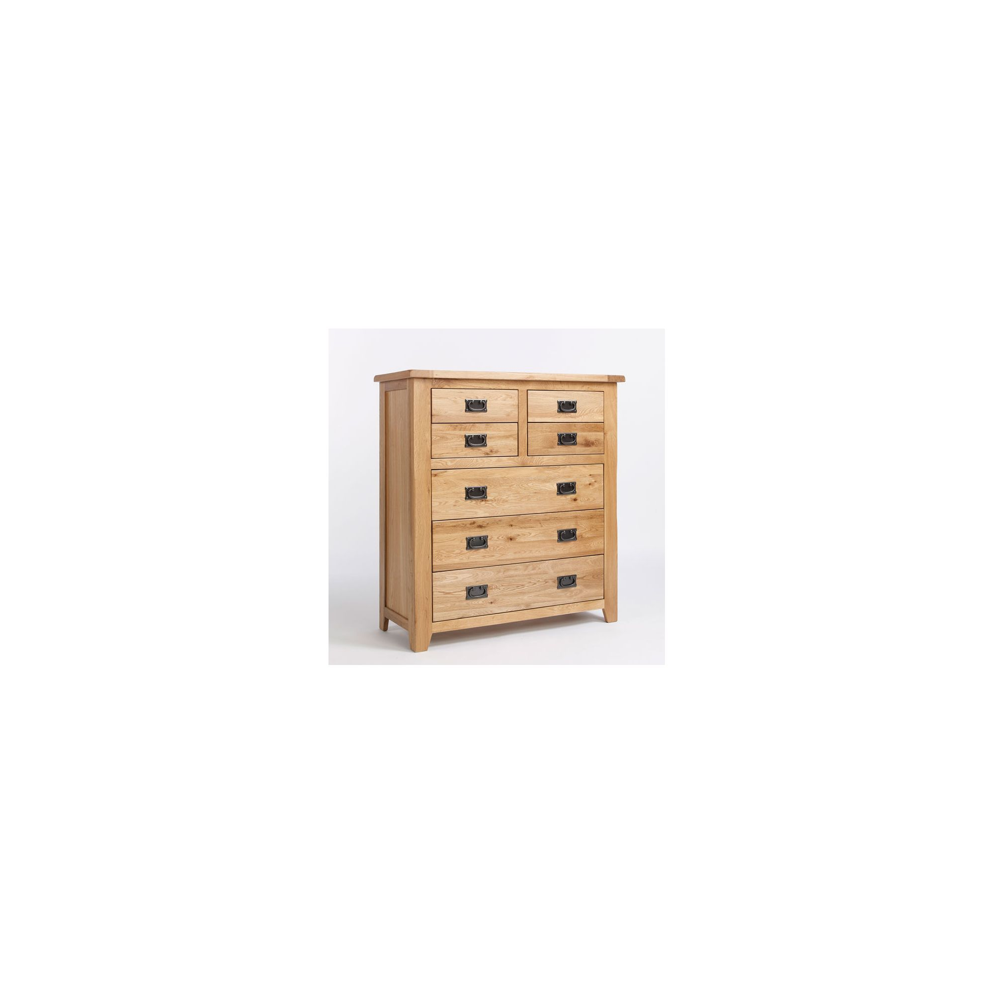 Ametis Westbury Reclaimed Oak Four Over Three Drawer Chest at Tesco Direct