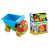 Dede Construction Truck with Blocks