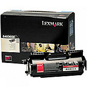 Lexmark Black Toner Cartridge for T640, T642, T644 (Yield 6000 pages)