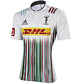 adidas Harlequins Rugby 15/16 Away Jersey - White