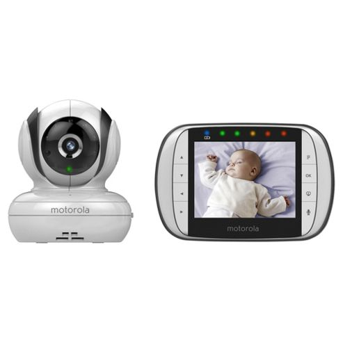 buy motorola mbp36s digital video baby monitor from our video range tesco. Black Bedroom Furniture Sets. Home Design Ideas