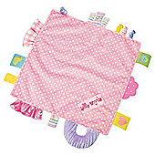 Label Loveys Blanket Pink