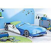 Demeyere (Furniture) Formula One Car Single Bed Frame in Blue