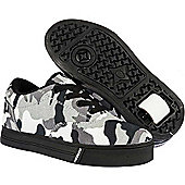 Heelys Launch 2.0 Black/White/Camo Heely Shoe - 13