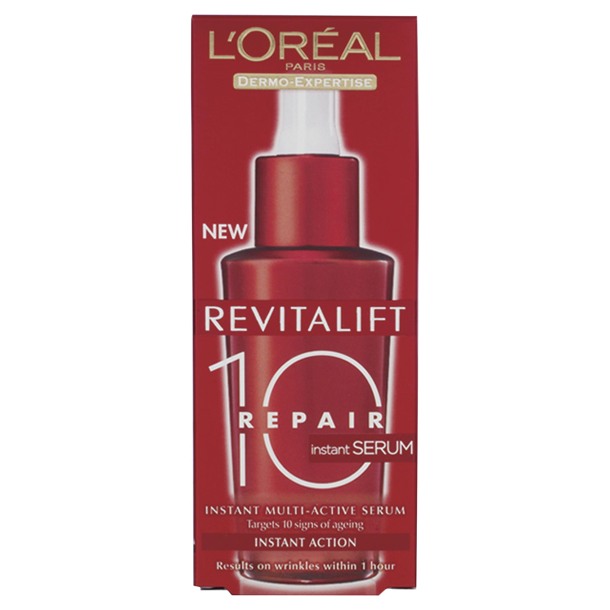 health and beauty l 39 oreal revitalift repair 10 serum 30ml special offers. Black Bedroom Furniture Sets. Home Design Ideas