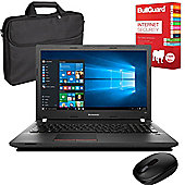 "Lenovo E50-80 80J201X4UK 15.6"" Laptop With Internet Security, Wireless Mouse & Case"
