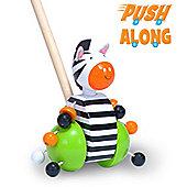 Fiesta Crafts Zebra Push Along