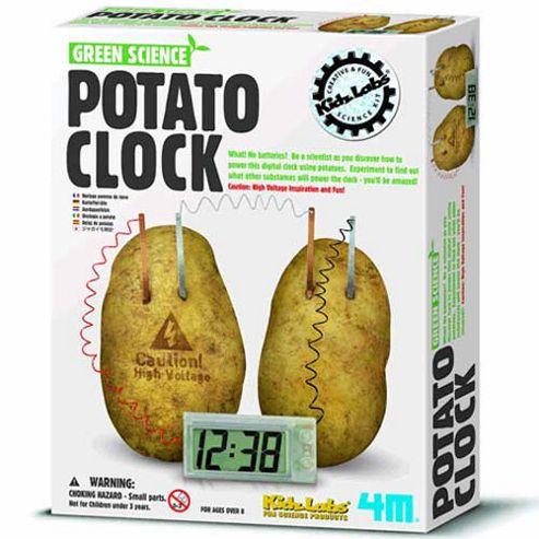 Great Gizmos Kidz Lab Green Science Potato Clock