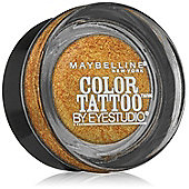 Maybelline Color Tattoo 24hr Eyeshadow 4g - 65 Gold Rush