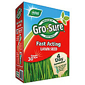 Gro sure fast acting lawn seed 30 sqm