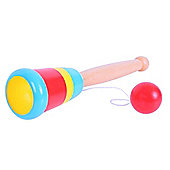 Bigjigs Toys BJ712 Ball and Cup (Two Supplied)