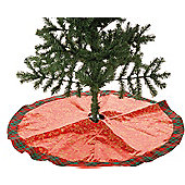 59cm Red/Gold Tree Skirt