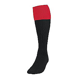 Precision Training Turnover Football Socks Mens Black/Red