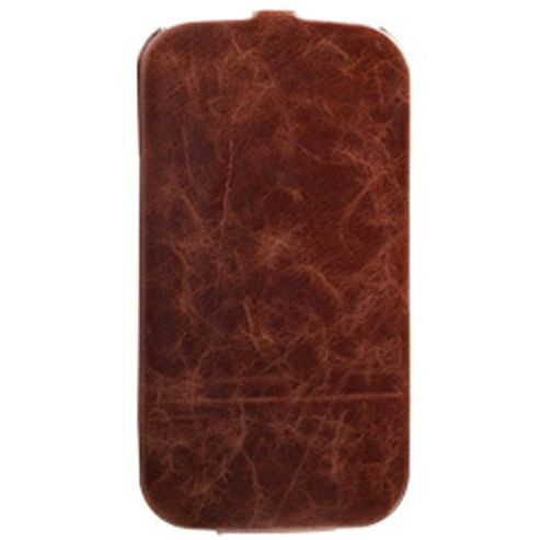 Krusell Tumba SlimCover Vintage for Samsung Galaxy S4 -Brown