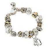 40th Birthday Charm Bracelet