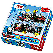 Thomas & Friends - Friends from Sodor Island 4-in-1 Puzzles