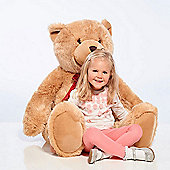 Jumbo Harry Honey Brown Soft Teddy Bear - 120cm