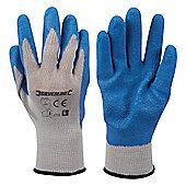 Silverline Latex Builders Gloves Large