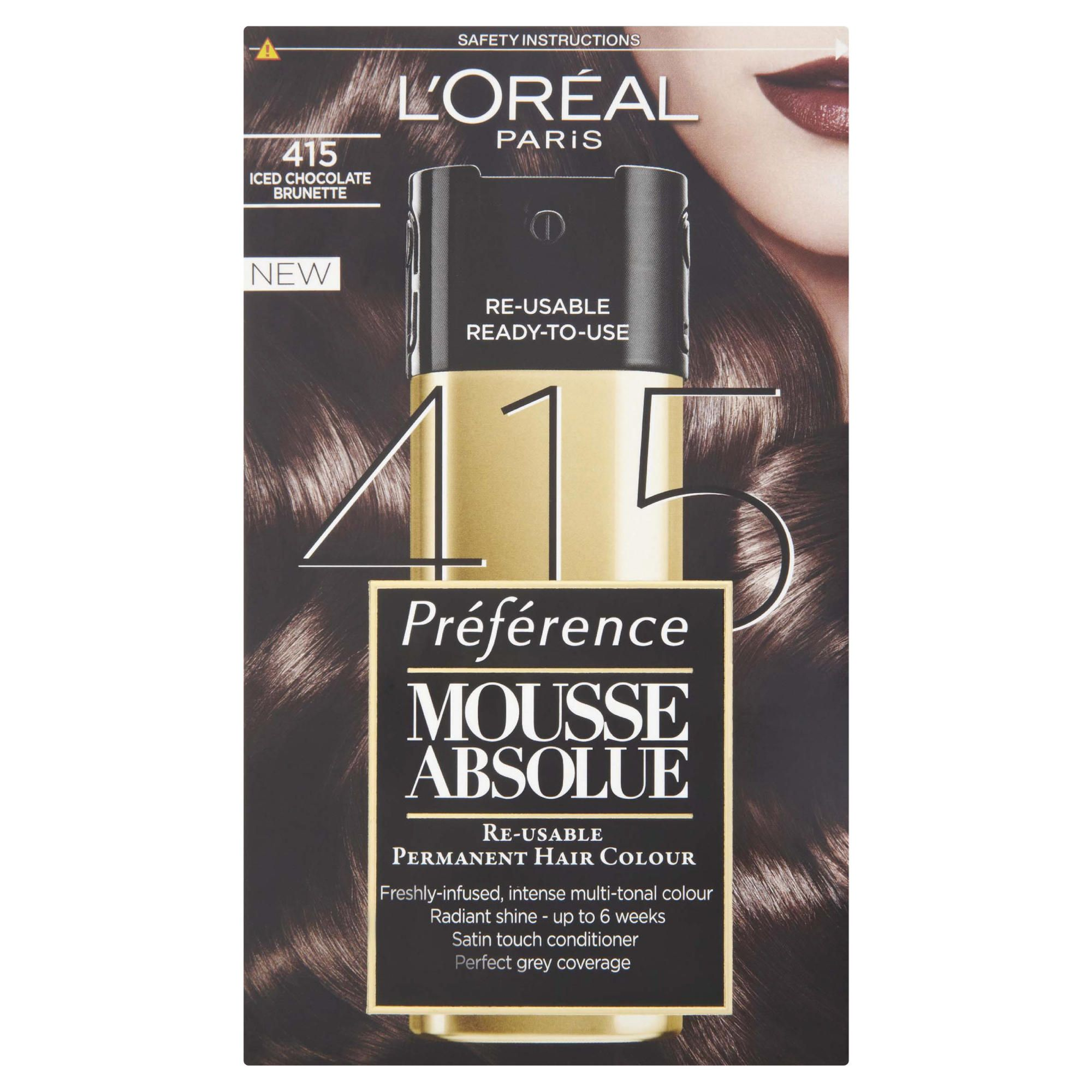 L'Oreal Mousse Absolue Iced Chocolate Brunette 415