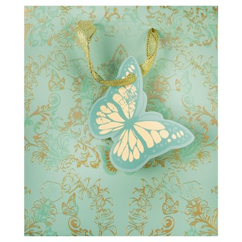 Gold Foil Butterfly bag - small