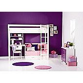 Thuka Trendy Girl High sleeper Bedroom Set