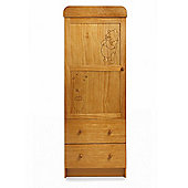 Disney Winnie the Pooh Single Wardrobe - Country Pine