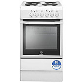 Indesit Electric Cooker, I5ESHW, White