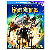 Goosebumps 3D Blu-ray