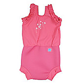 Splash About Happy Nappy Costume - Pink Blossom - Pink