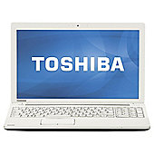 "Toshiba C55-184 15.6"" Celeron 6GB/750GB White Laptop"
