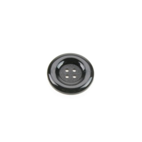 Dill Buttons 23mm Round - Black