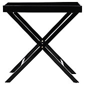 Breakfast Tray Table Black