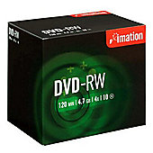 Imation DVD-RW 4x 4.7GB 10-pack Jewelcase