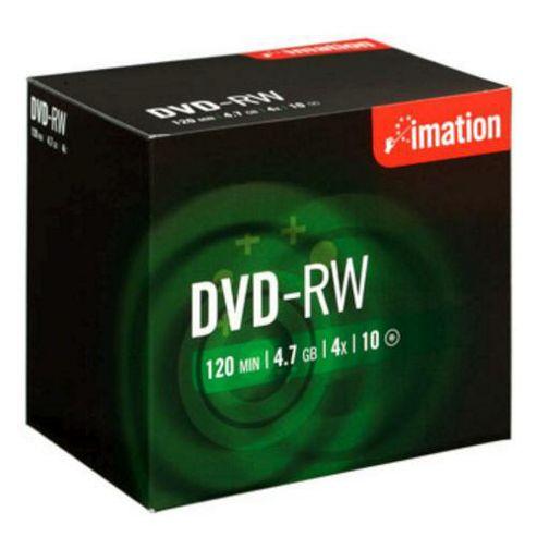 Imation DVD-RW 4x 4.7GB 10-pack Jewelcase
