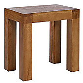 Rustic Grange Brooklyn BLDRTS1 Rustic Oak Dressing Table Stool