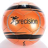 Precision Training Vortex Football Fluorescent Orange/Black Size 5