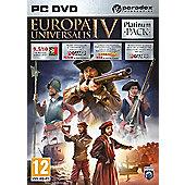 Europa Universalis IV Platinum Pack - PC