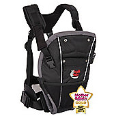 Bushbaby Award Winning Black Cocoon Front Baby Carrier
