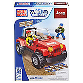 Mega Bloks World Builders Jeep Wrangler