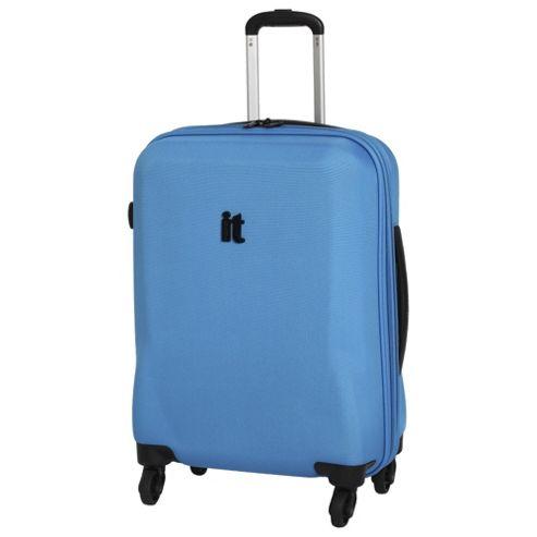 buy it luggage frameless 4 wheel suitcase methyl blue. Black Bedroom Furniture Sets. Home Design Ideas