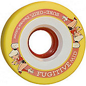 Suregrip Fugitive Mid Yellow 62mm Roller Derby Skate Wheels