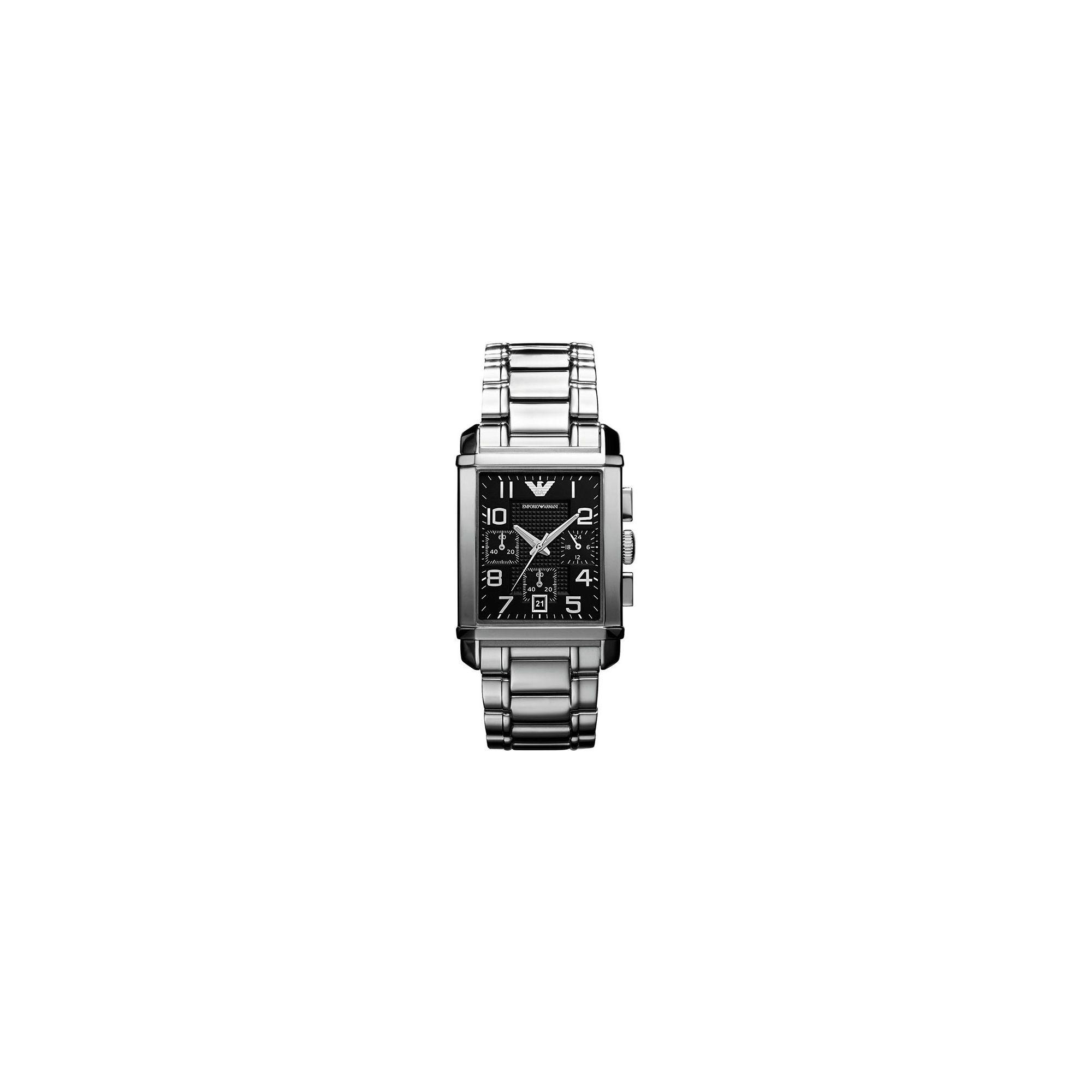 Emporio Armani Strap Watch AR0334 at Tesco Direct