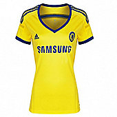 2014-15 Chelsea Adidas Womens Away Shirt - Yellow