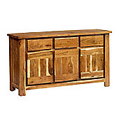 Indian Hub Metro Three Door and Three Drawer Sideboard