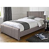 Snug City Single Slate Upholstered Bed Frame Knightsbridge Design Made In the UK