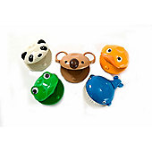 Percussion Plus PP1130 Bambina 5 Animal Castanets