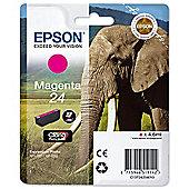 Epson Singlepack Magenta 24 Claria Photo HD Ink