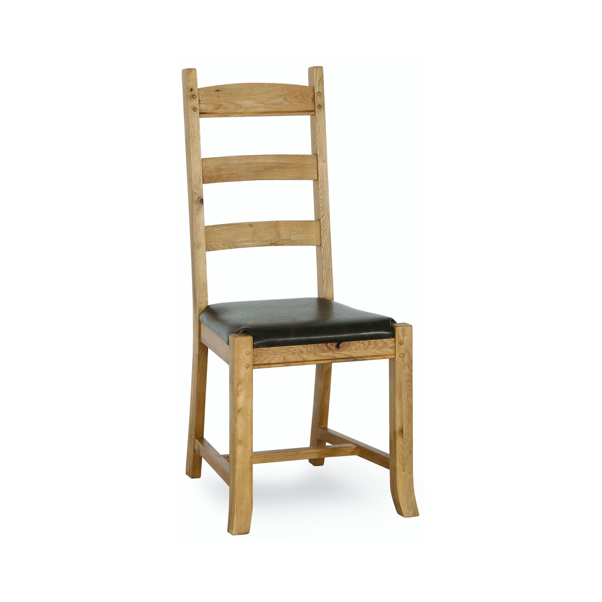 Kelburn Furniture Veneto Rustic Oak Dining Chair (Set of 2)